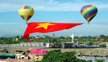 Vinh Tourist Area and surroundings
